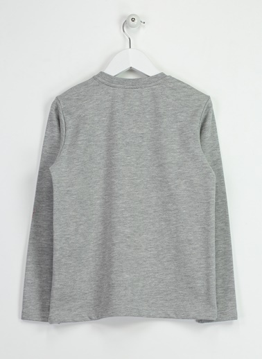 Asymmetry Sweatshirt Gri
